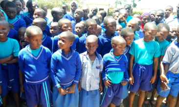 Happy to start school in Nakivale Refugee Camp, Uganda – January 2019